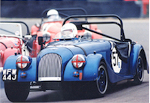 Billy Bellinger driving in Morgan Challenge